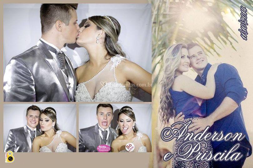 Casamento Anderson e Priscila
