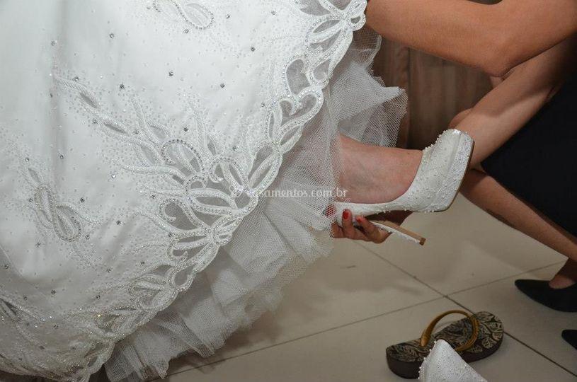 Troca de sapato