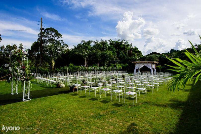 Campo para cerimonia