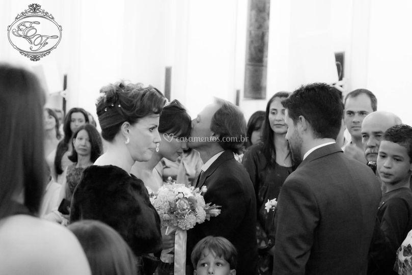 Cerimônia  entrada da noiva