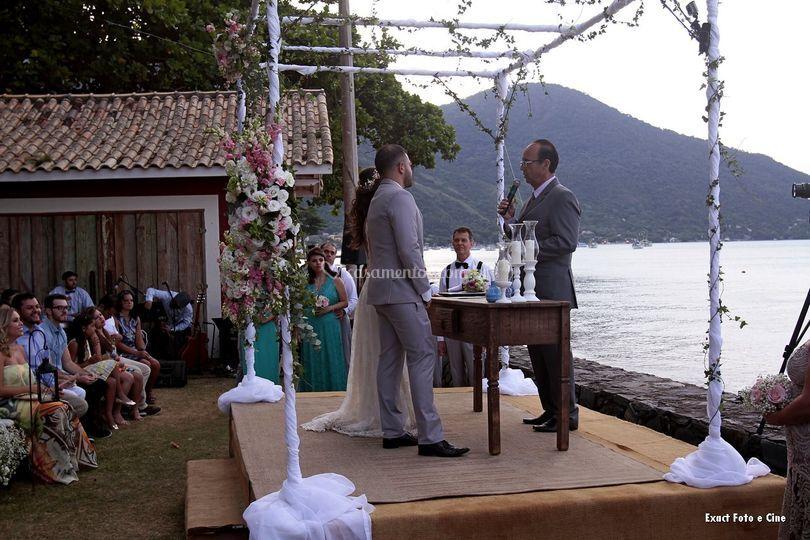 Casamento Praia São Sebastião