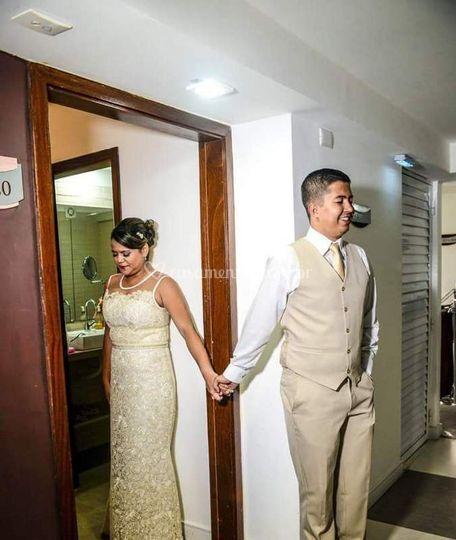 Depois da cerimonia