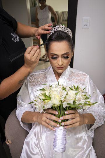Making-of da noiva_Buque