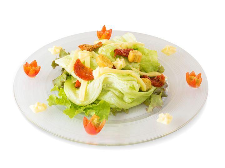Gastronomia - salada caesar
