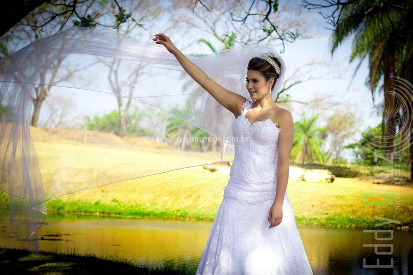 Ensaio externo dos noivos