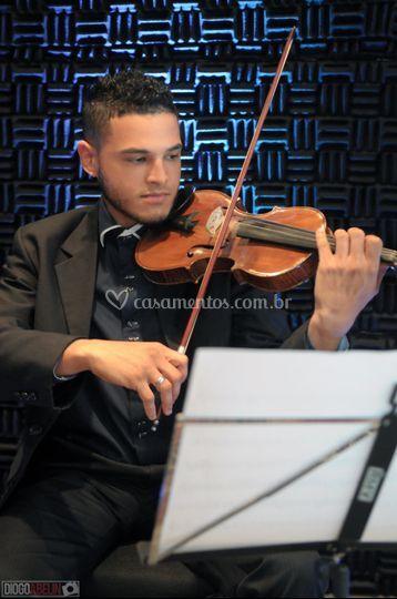 Violinista profissional