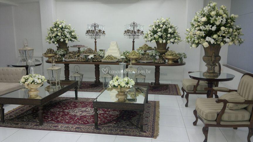 Mesa de Bolo-Casamento