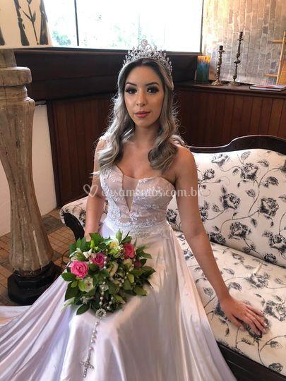 Vestido de noiva 2em1