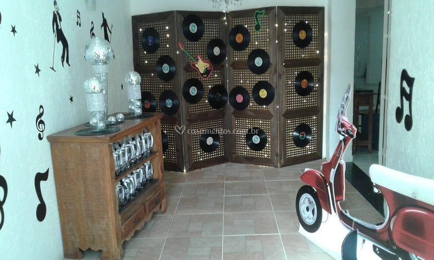 Disco de vinil anos 60