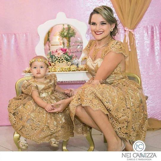 Mãe e filha, puro amor