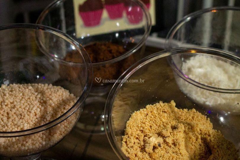 Variáveis toppings