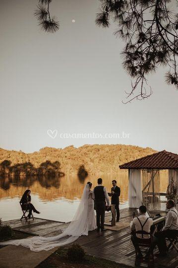 Um lindo casamento a dois. R&R