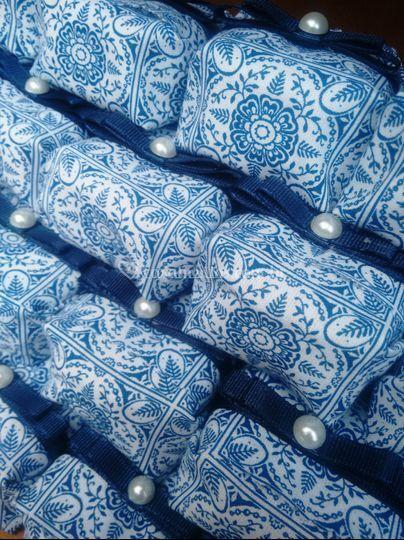 Embalagem em tecido