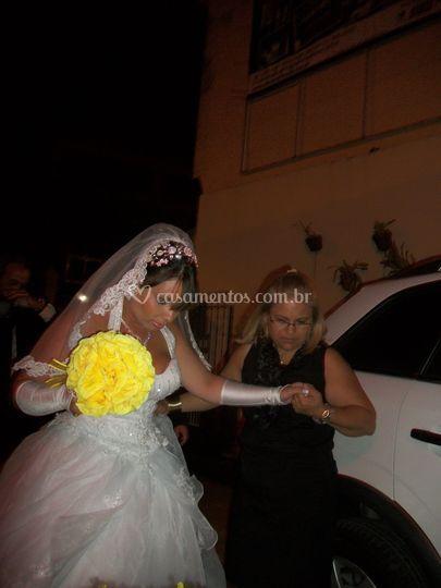 Auxiliando a noiva