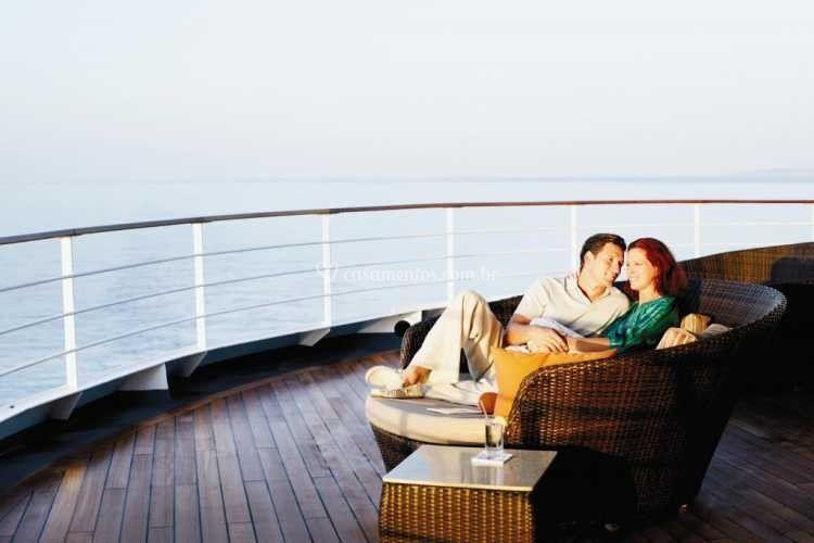 Romantismo em Alto Mar