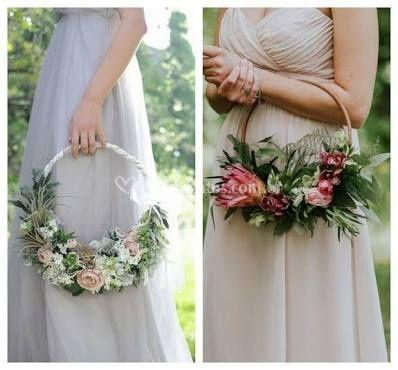 Bouquet bastidor
