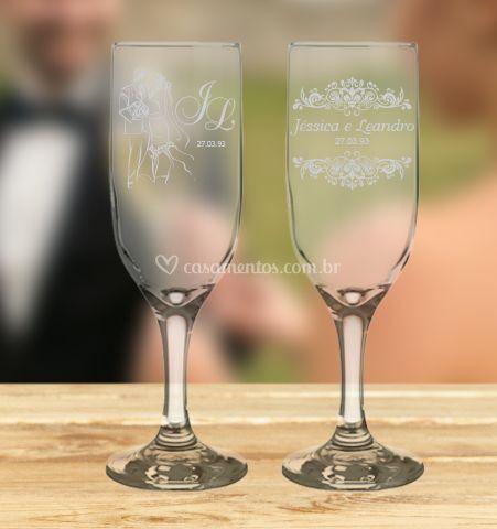 Taça noivos
