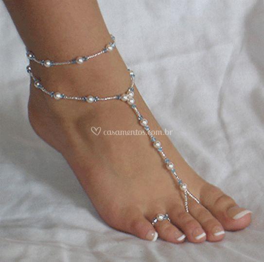 Sandália pés descalços