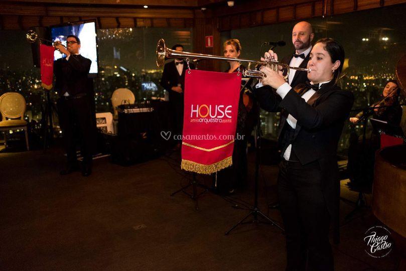 House Orquestra Terraço Itália