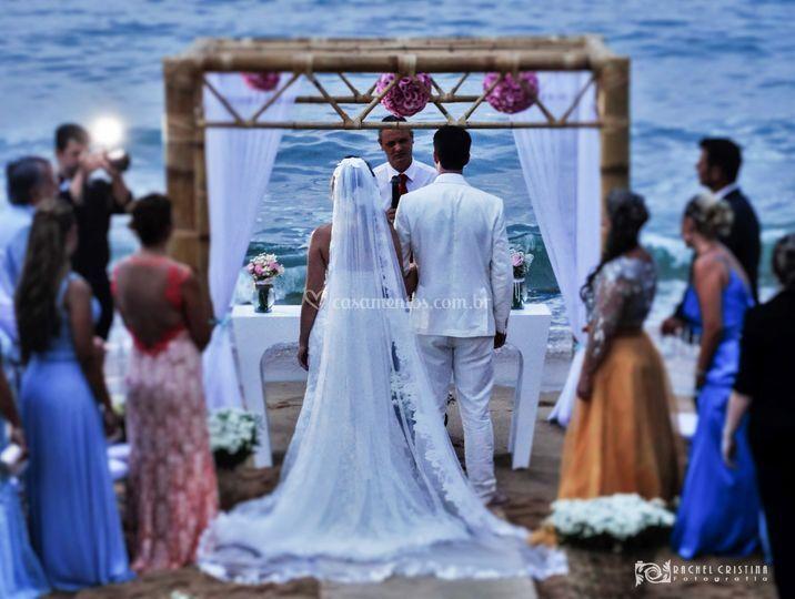 Cerimônia na Praia