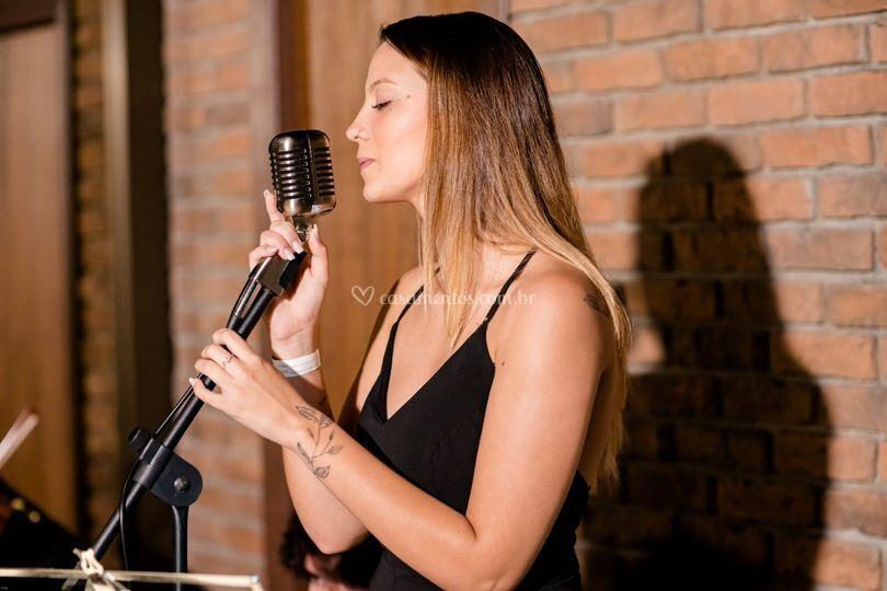 Cantando com a alma!