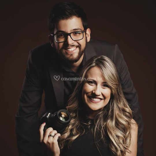Lucas Loyola e Joyce Duarte