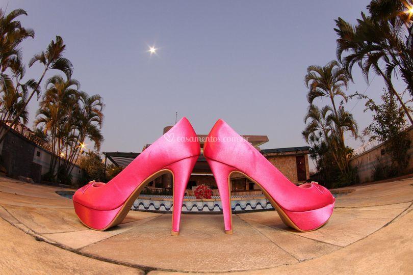 Sapato e luar