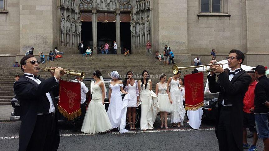 Clarinada no desfile