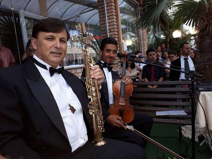 Sax e violino