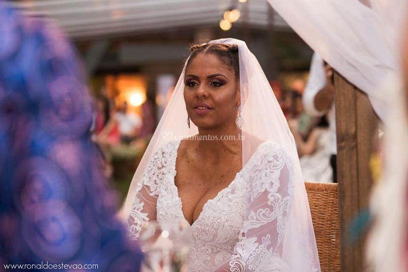 Noiva Vanessa Alvarenga