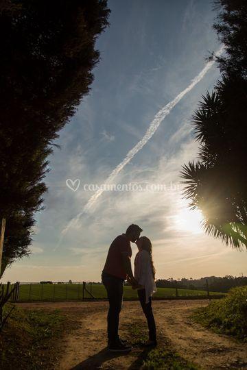Ensaio Claudia e Klisman