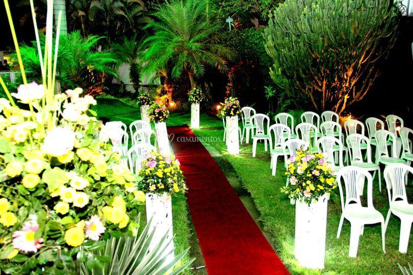 Jardim do Casarão do Paraíso