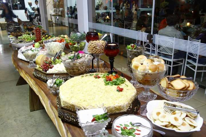 Estrutura para buffet