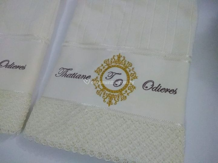 Toalha para noivos