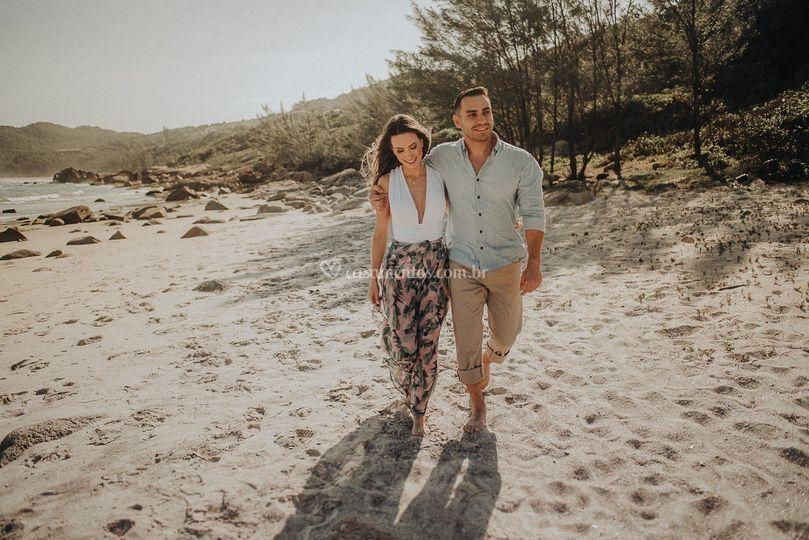 Pré casamento praia do rosa
