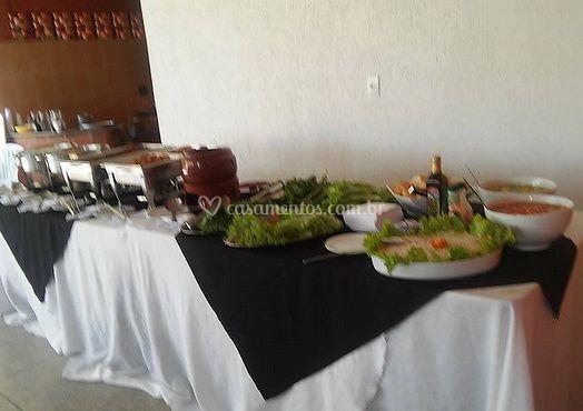 Apresentação de catering