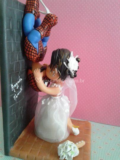 Noivinhos - Homem Aranha