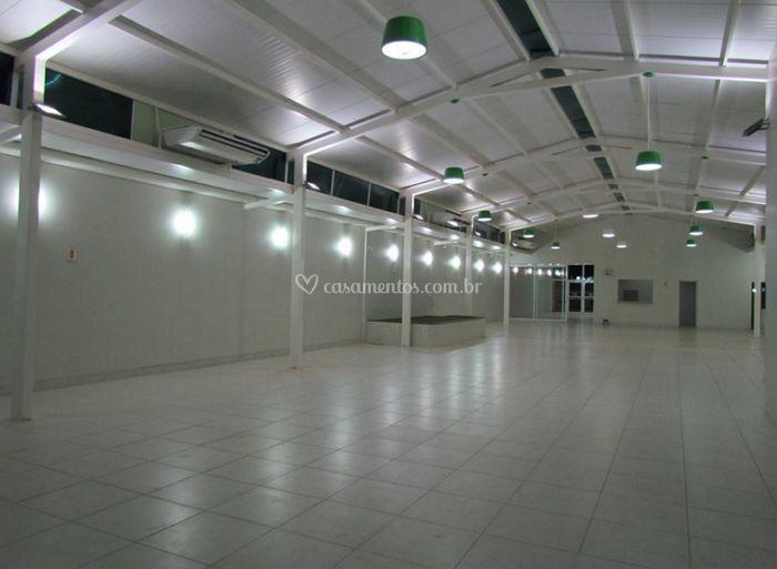 Amplo espaço