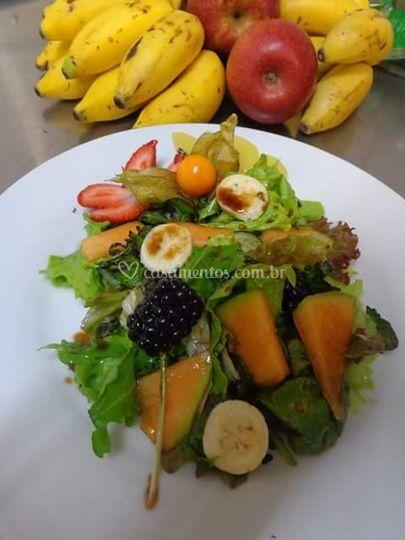 Mix Verdes com Frutas Organica