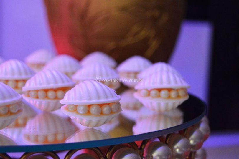 Ostrinhas de Chocolate Branco