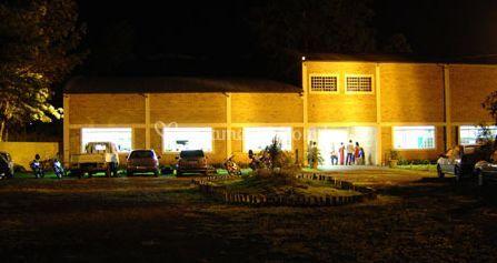 Salão vista noturna
