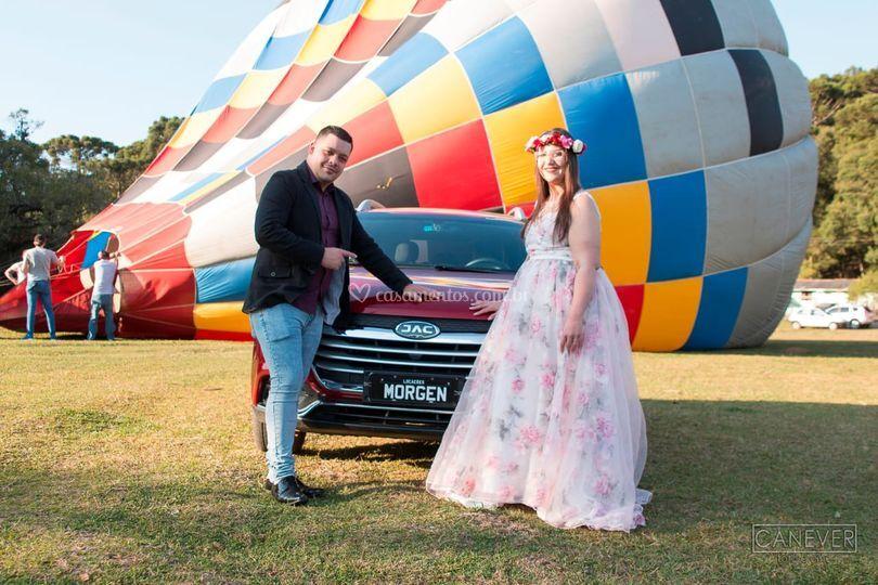 Balão para ensaio e casamento
