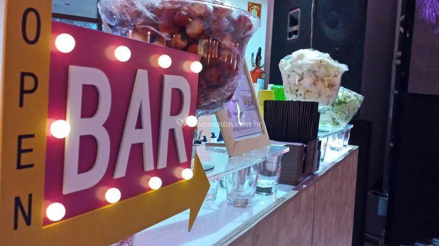 Decoração de bar