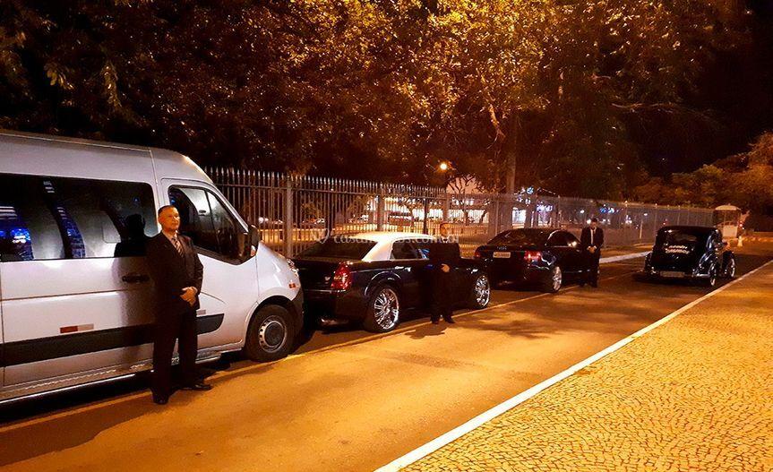 Locação de veículos e Vans