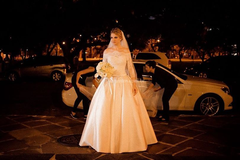 Entrada Noiva Casamento Torres