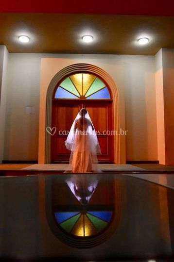 Entrada noiva em ararangua