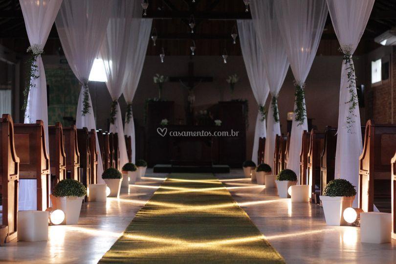 Iluminação para cerimônia