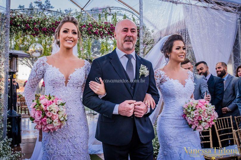 Entrada das noivas