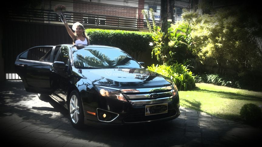 Ford Fusion - Teto solar