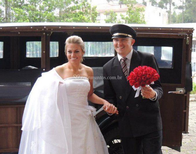 Chegada da noiva